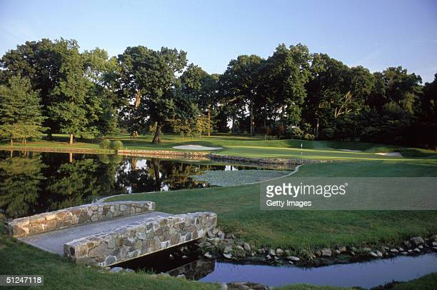 General view of hole on January 1, 2003 at the Baltusrol Golf Club in Springfield, New Jersey.