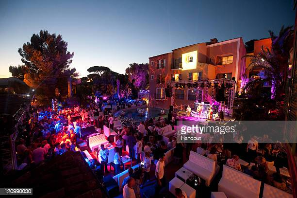 General view of Hotel Byblos Summer Party at Hotel Byblos on July 13 2011 in SaintTropez France