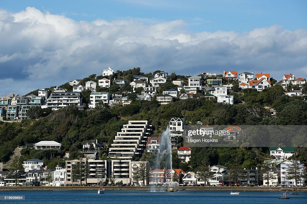A general view of houses and apartments in Oriental Bay on April 9, 2016 in Wellington, New Zealand. Increased demand for property in Wellington has seen house prices increase by 7.5 per cent in the past year. The average value of a house in the Wellington region is now $491,236, up 3.1 per cent over the past three months.