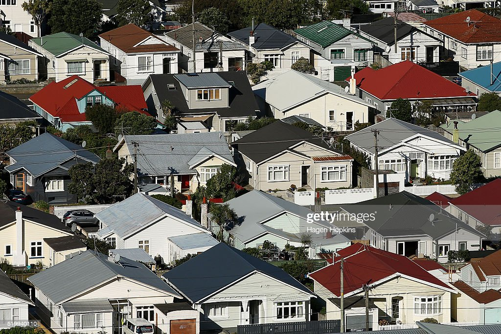 General Scenes Of Wellington Real Estate As Housing Prices Continue To Rise : News Photo