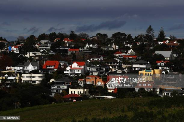 A general view of housing on June 2 2017 in Auckland New Zealand New date from Land Information NZ shows that around 82 per cent of houses in the New...