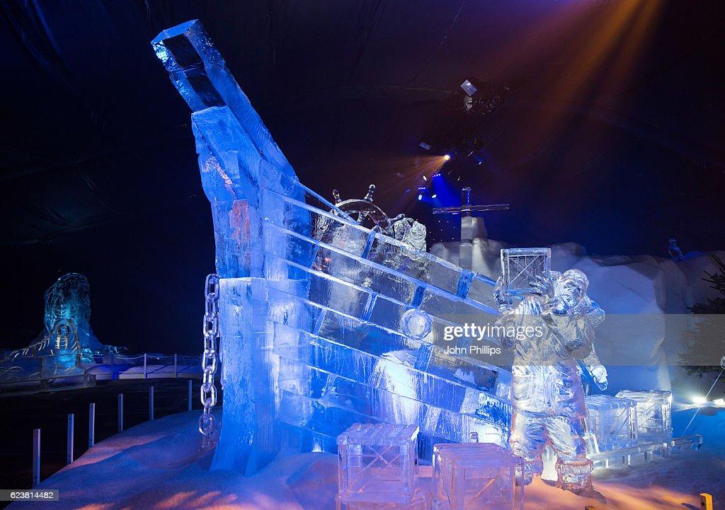 Winter Wonderland Hyde Park Ice Kingdom