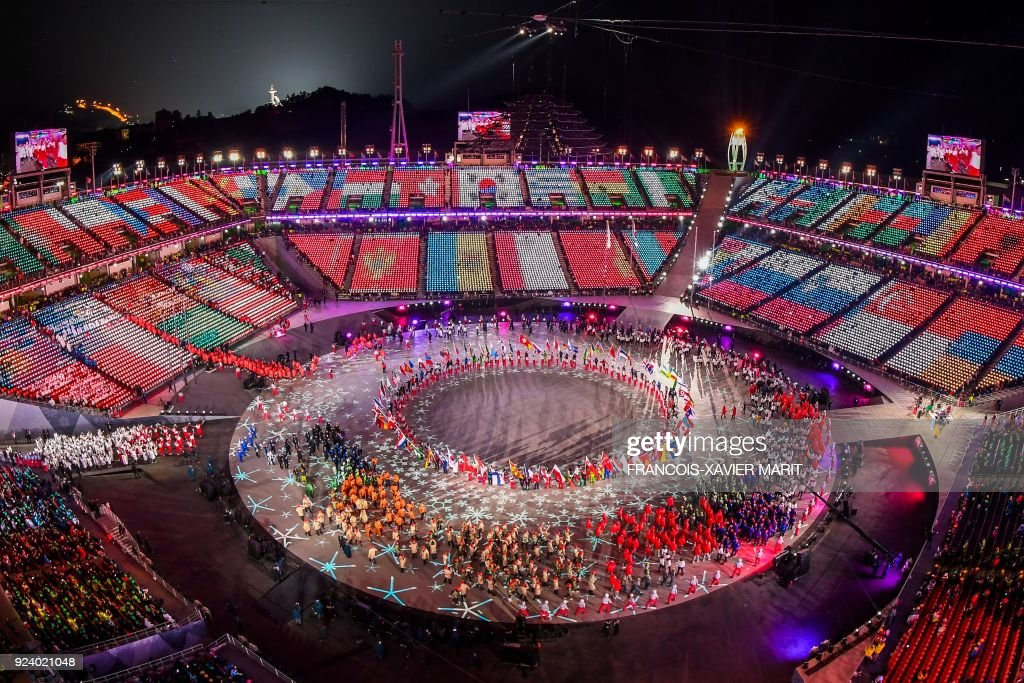 KOR: 2018 Winter Olympic Games - Closing Ceremony