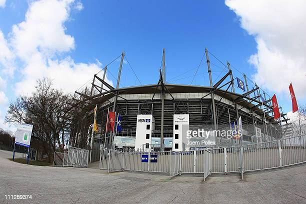 General view of Imtech Arena home of the Hambuger SV on March 29 2011 in Hamburg Germany