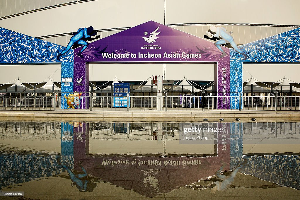 A general view of Incheon main Stadium of the 17th Asian Games oon September 18, 2014 in Incheon, South Korea.