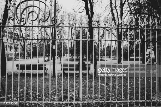 A general view of Indro Montanelli park on March 12 2020 in Milan Italy The Italian Government has strengthened up its quarantine rules shutting all...