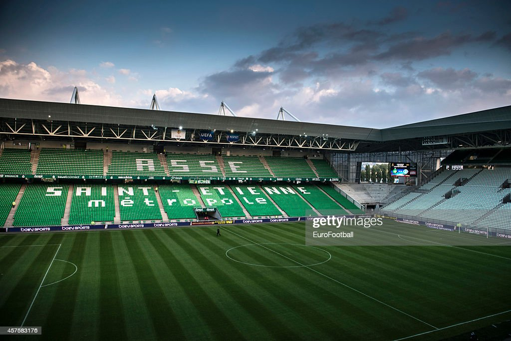 AS Saint-Etienne v FC Dnipro Dnipropetrovsk - UEFA Europa League : News Photo