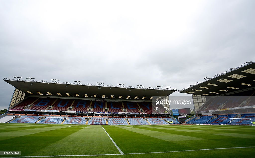 A general view of inside the ground before the Sky Bet Championship match between Burnley and Yeovil Town at Turf Moor on August 17, 2013 in Burnley, England