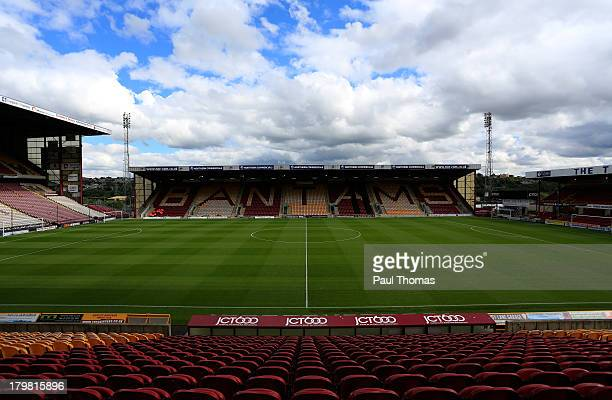 A general view of inside the ground before the Sky Bet League One match between Bradford City and Brentford at the Coral Windows Stadium on September...