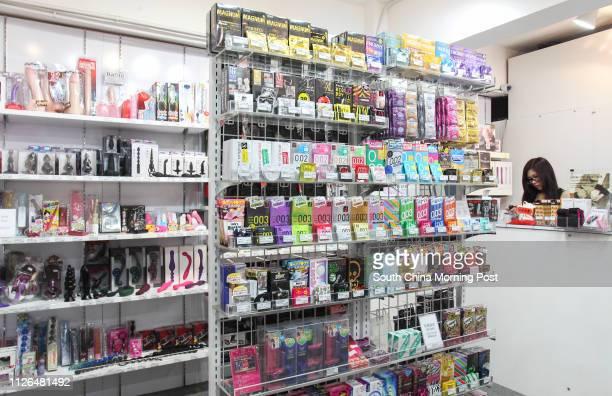 General view of inside Wanta sex shop in Russell Street Causeway Bay 18SEP14 [23SEP2014 BROADSHEET LIFE]