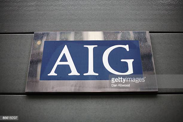 A general view of insurance company AIG on March 26 2009 in London England The company has received more than 170 billion USD from the US tax payer...