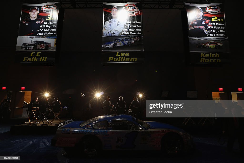 A general view of interviews before the NASCAR Wheelen All-American Series Awards in the Charlotte Convention Center at the NASCAR Hall of Fame on December 7, 2012 in Charlotte, North Carolina.