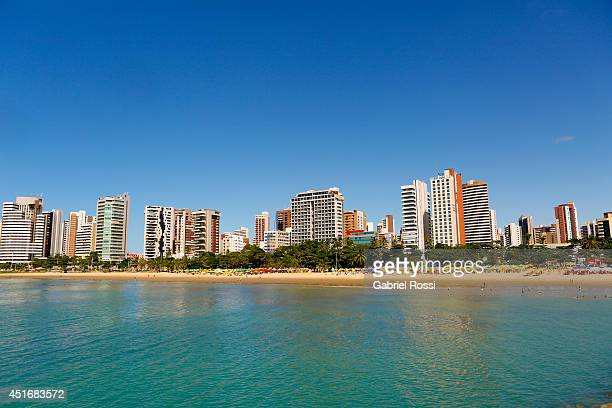 General view of Iracema Beach on July 03, 2014 in Fortaleza, Brazil. Fortaleza is one of the 12 venues of the 2014 FIFA World Cup Brazil.