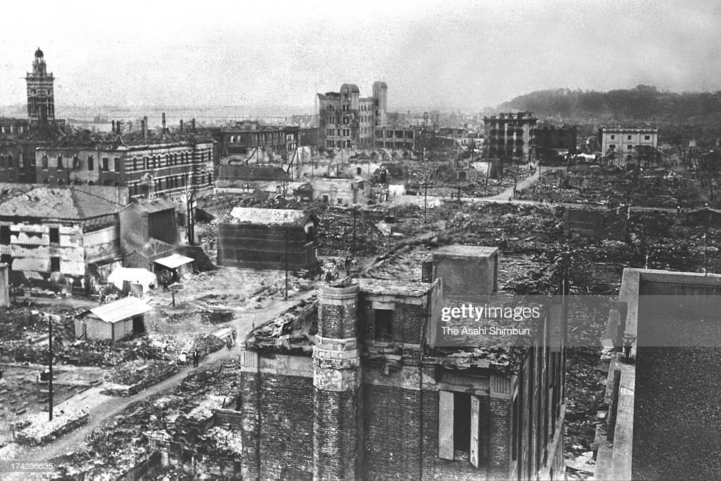 1923 Great Kanto Earthquake : News Photo