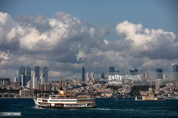 General view of Istanbul, Turkey, on September 18 amid the coronavirus outbreak. (Photo by Onur Dogman/NurPhoto