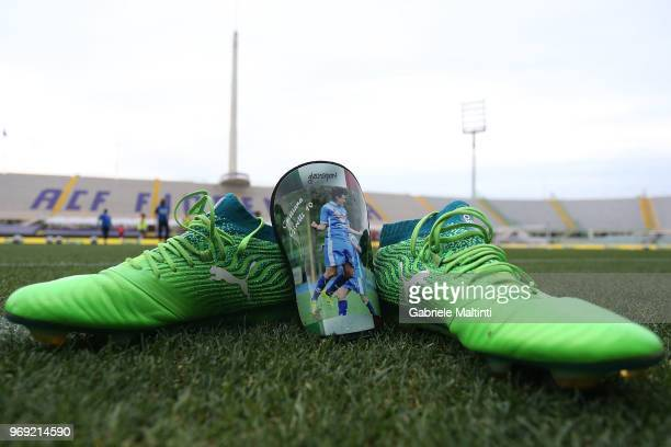 General view of Italy Women during a training session at Artemio Franchi on June 7 2018 in Florence Italy
