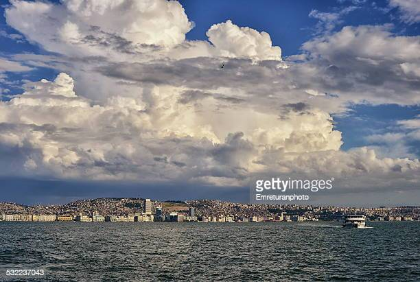 general view of izmir - emreturanphoto stock pictures, royalty-free photos & images