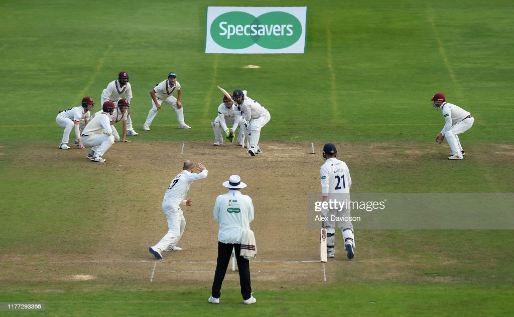 Somerset v Essex - Specsavers County Championship Division One: Day Four : ニュース写真