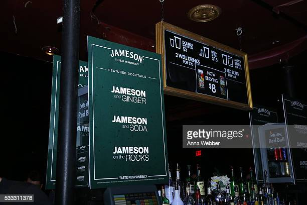 General view of Jameson offerings during Vulture Festival Governors Ball Present Gary Clark Jr And Albert Hammond Jr at Webster Hall on May 21 2016...