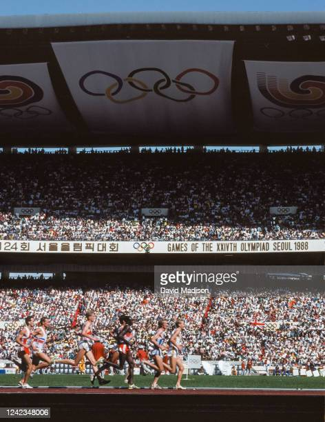 General view of Jamsil Olympic Stadium during the Athletics competition of the 1988 Olympic Games in September 28, 1988 in Seoul, South Korea....