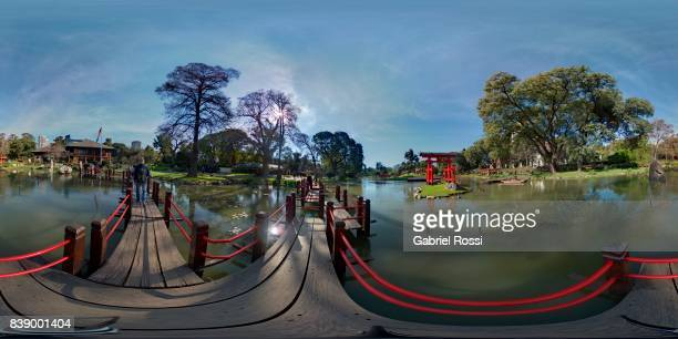A general view of Jardin Japones on August 18 2017 in Buenos Aires Argentina
