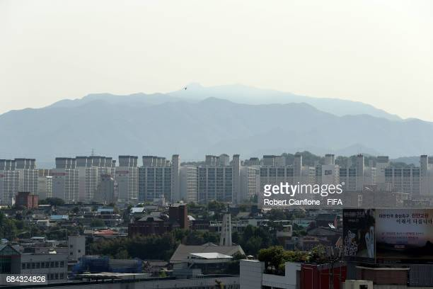 A general view of Jeonju ahead of the FIFA U20 World Cup on May 18 2017 in Jeonju South Korea
