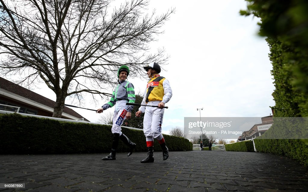 Easter family fun day kempton park racecourse pictures getty easter family fun day kempton park racecourse1 picture embed embedlicence general view of jockeys fran berry and andrea atzeni walking into the parade negle Gallery