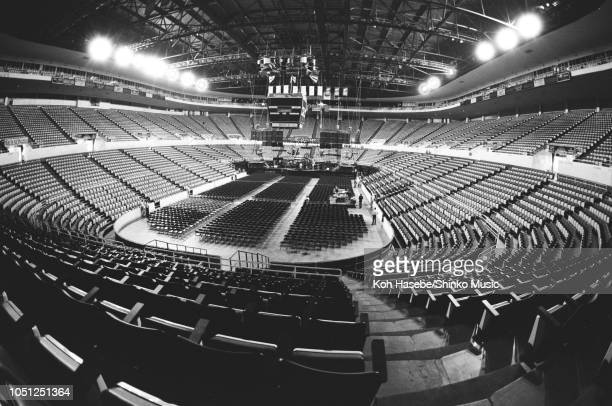 General view of Joe Louis Arena empty before a Queen show on their Hot Space North American tour Detroit United States 06 August 1982
