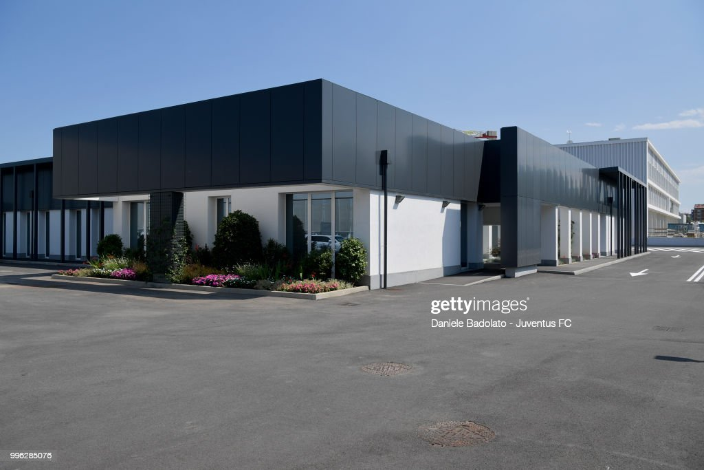 general view of Juventus training center on July 4, 2018 in Turin, Italy.