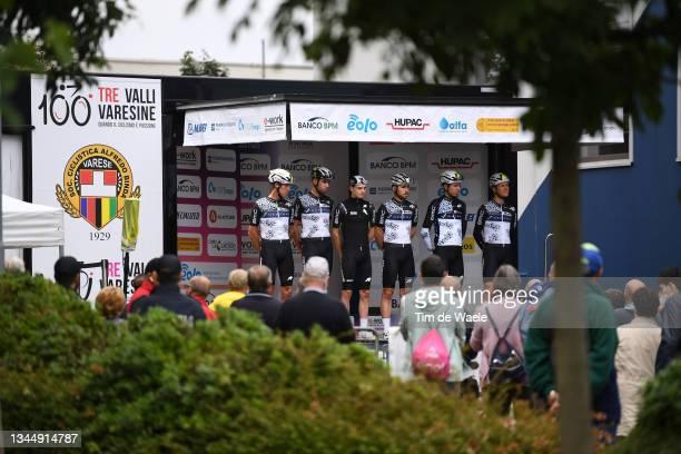 General view of Karel Vacek of Czech Republic, Sean Bennett of United States, Nielsen Andreas Stokbro of Denmark, Dylan Sunderland of Australia, Emil...