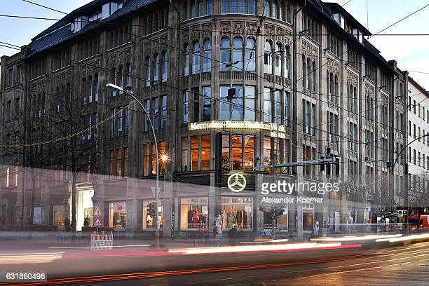 General view of Kaufhaus Jandorf during the MercedesBenz Fashion Week Berlin A/W 2017 on January 17 2017 in Berlin Germany