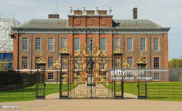 General view of Kensington Palace central London