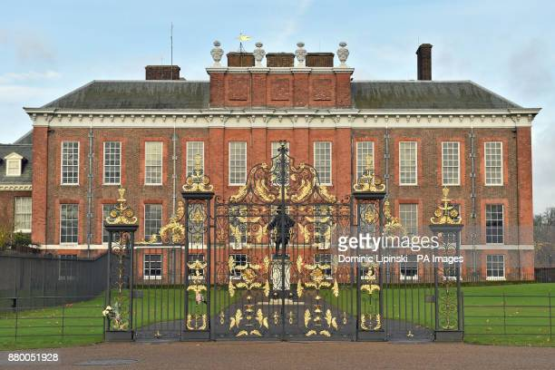 A general view of Kensington Palace London after it was announced that Prince Harry and Meghan Markle are engaged