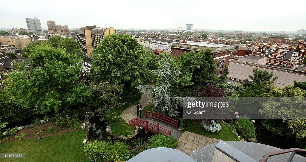 A General View Of Kensington Roof Gardens Which Will Be Open To The Public  Through The