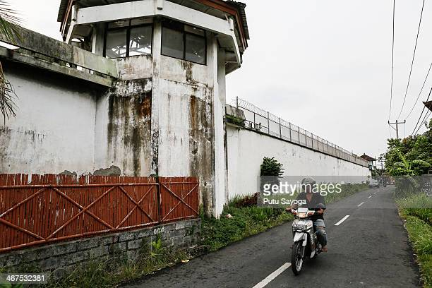 General view of Kerobokan Prison where Schapelle Corby being detained on February 7 2014 in Denpasar Bali Indonesia Australian Drug trafficker...