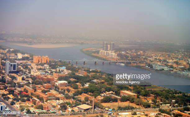 General view of Khartoum, capital of Sudan is seen on February 22, 2018. Sudan composes with coalition of majority Arabs and a few indigenous African...