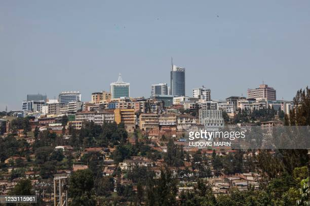 General view of Kigali city center on May 26, 2021.
