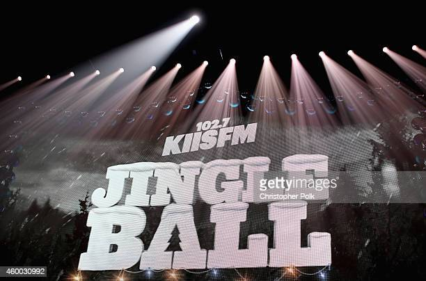 General view of KIIS FM's Jingle Ball 2014 powered by LINE at Staples Center on December 5 2014 in Los Angeles California
