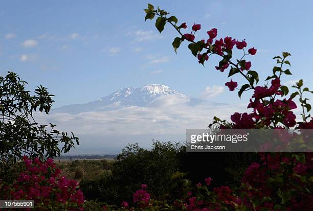 A general view of Kilimanjaro on December 13 2010 in Arusha Tanzania Martina Navratilova was taken off Kilimanjaro after suffering from altitude...