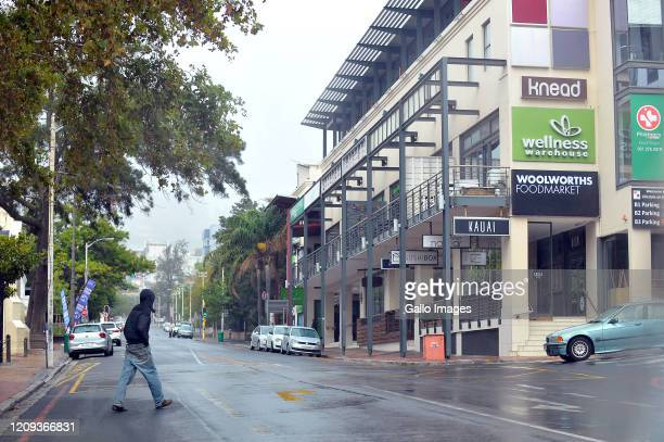 A general view of Kloof Street Hotel on Day Twelve of National Lockdown on April 07 2020 in Cape Town South Africa According to media reports...