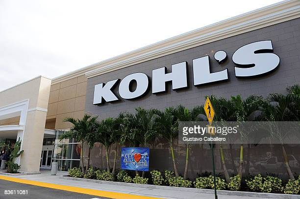 General view of Kohls Department Store on November 7 2008 in Kendall Florida