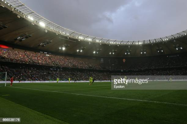 A general view of Krasnodar Stadium on April 09 2017 in Krasnodar Russia