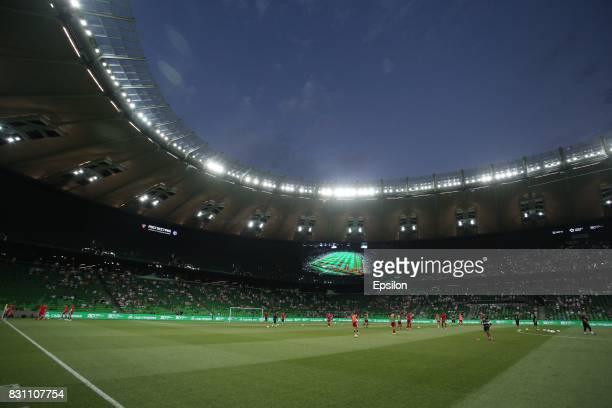 A general view of Krasnodar Stadium on August 13 2017 in Krasnodar Russia
