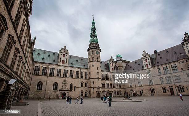 General view of Kronborg Castle aka Elsinore the setting of Hamlet on August 1 2012 in Copenhagen Denmark