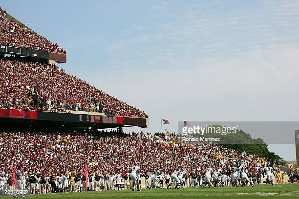 A general view of Kyle Field is shown during the Texas AM Aggies game against the Missouri Tigers at Kyle Field on October 14 2006 in College Station...