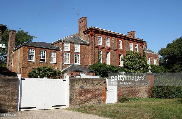 A general view of Lady Annabel Goldsmith's house Ormeley Lodge on September 12 2009 in Richmond upon Thames England Sophie Winkleman and Lord...