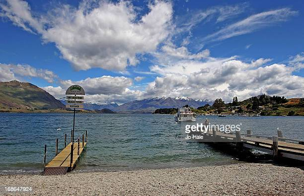 A general view of Lake Wanaka view opposite Wanaka Village on December 21 2012 in the South Island of New Zealand