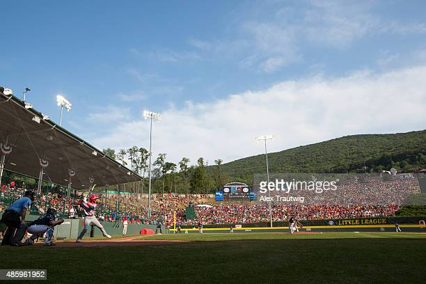 A general view of Lamade Stadium during the Little League World Series Championship Game between the MidAtlantic Team from Red Land Little League and...