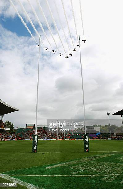 A general view of Lansdowne road during the Heineken Cup Final between Perpignan and Toulouse on May 24 2003 at Lansdowne Road in Dublin Ireland...