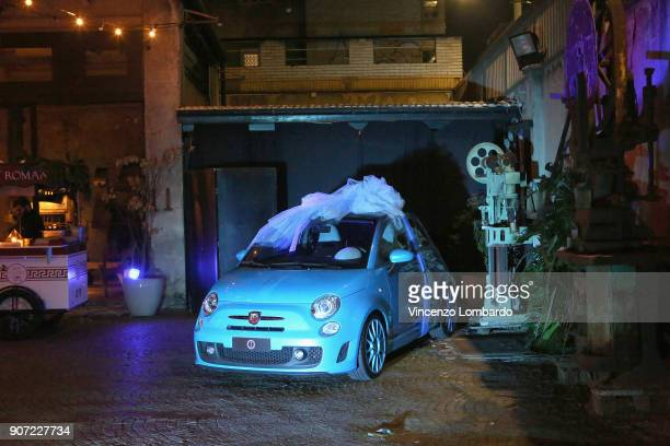 A general view of Lapo Elkann's wedding present to Rosa Fanti and Carlo Cracco on January 19 2018 in Milan Italy